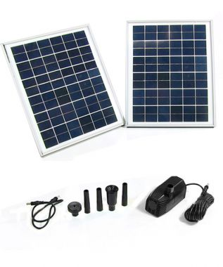20 watt solar pump without batteries