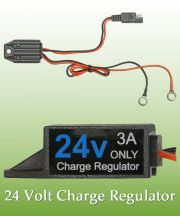 Smart Solar Charge Regulator for 24V Batteries