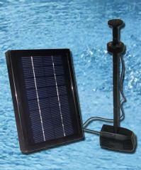 2.5 Watt Solar Water Pump Kit with LED and Battery