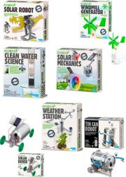3 Toysmith Clean Energy Science Kits