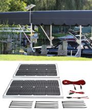 40w 24v Solar Marine Boat Lift Charging Kit