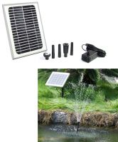 "Solar Pump and Solar Panel Kit with 56"" Lift"