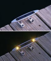 2 Pack 6 Inch Solar Cleat Lights
