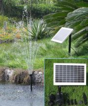 "Solar Pump and Solar Panel Kit With 80"" Head"