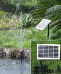 8 Watt Solar Water Pump
