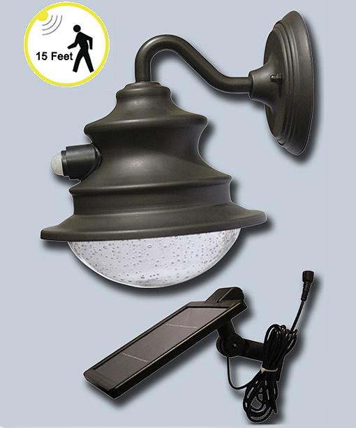 Barn Light With Pir Sensor: Motion Activated Gooseneck Solar Barn Or Shed Light