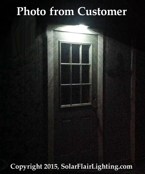Gooseneck Solar Barn Or Shed Light