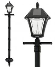 Baytown II Solar Lamp Post with EZ-Anchor Base