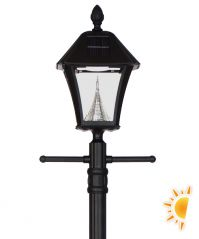 Baytown Solar Lamp Post with EZ Anchor