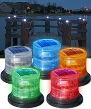Flashing or Constant Solar Marine Lights