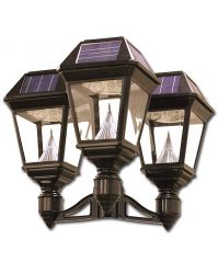 Imperial II Solar Lantern 3 Inch Fitter Triple Head