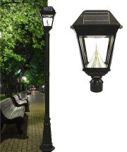 Imperial II Solar Lamp Post Single Head