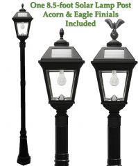 Imperial Solar Lamp Post