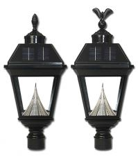 Imperial Solar Lantern with Eagle and Acorn Finial