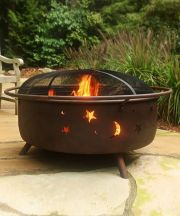 Large Cosmic Fire Pit