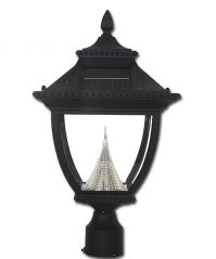 Pagoda Solar Lamp 3 Inch Fitter
