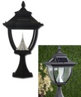 Pagoda Solar Lamp Post Mount