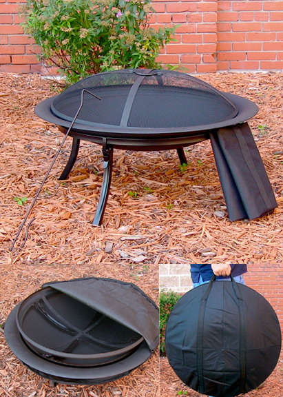 Portable Fire Pit For Camping : Portable camping fire pit