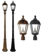 Royal Solar Lamp Post Single