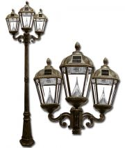 Royal Solar Lamp Post Triple