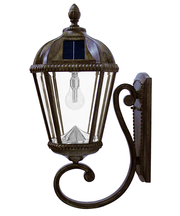 Royal solar wall mount solar lamp with gs led bulb aloadofball Image collections