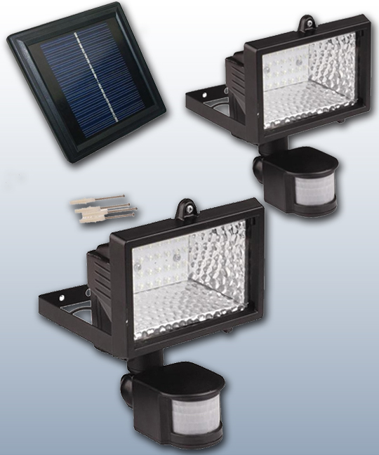 28 led solar motion activated security light aloadofball Images