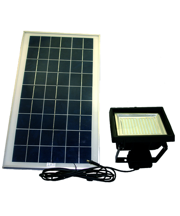 Smd led solar flood light with remote control and timer aloadofball Images