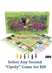 WineOpoly Board Game