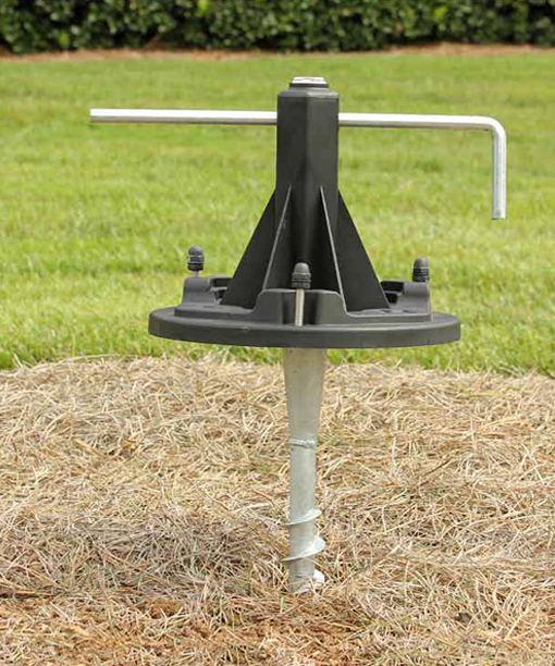 Ez Anchor Lamp Post Base For Gama Sonic Posts