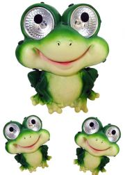 Frog Accent Solar Lights Set of 2