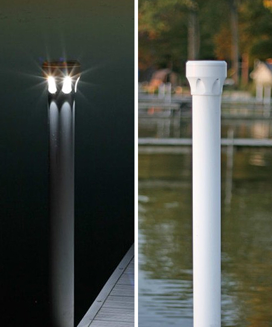 Under Glow Solar Dock Light