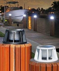Marine or Boating Solar Piling Lights