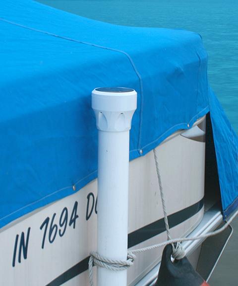 Solar Led Boat Dock Lights: Under Glow Solar Dock Light